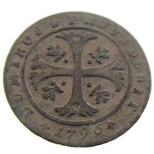 1796-Switzerland-Moneta-Reipublicae-Bernensis-1-2-Half-Batzen-Coin-P978