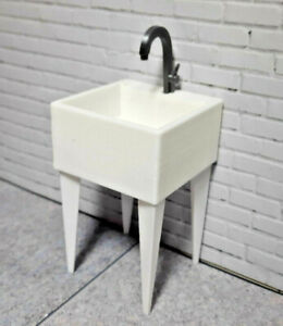 Wash-Basin-1-10-scale-Shop-Garage-Crawler-Doll-House-Accessories