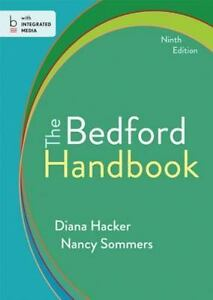 The-Bedford-Handbook-by-Diana-Hacker-and-Nancy-Sommers-2013-Hardcover