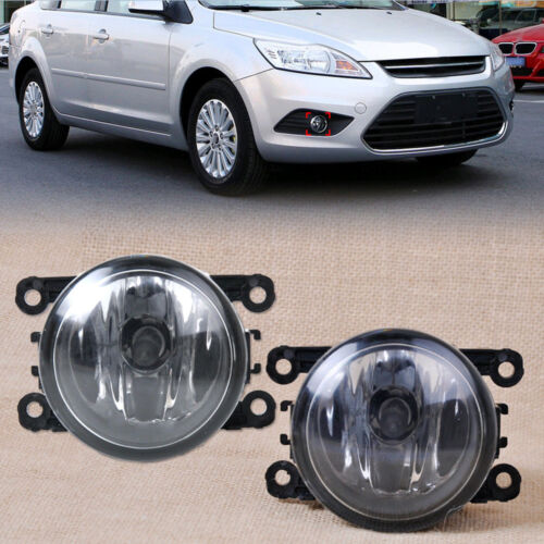 New Drive side Fog Light Lamp H11 Bulbs 55W Right /& left Side For Ford Focus