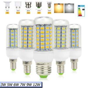 5730-LED-Gluehbirne-Birne-E27-E14-G9-B22-Mais-Licht-Leuchtmittel-Strahler-Lampe