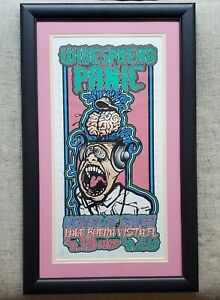 Archival-Framed-WIDESPREAD-PANIC-WSP-ORLANDO-1999-ORIGINAL-POSTER-J-T-LUCCHESI