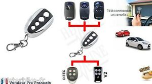 Télécommande Universelle COPIEUSE 433 MHZ Porte de Garage Portail Code Tournant