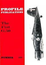 FIAT G.50 FIGHTER: PROFILE PUBS No.188/ NEW PRINT FACSIMILE EDITION