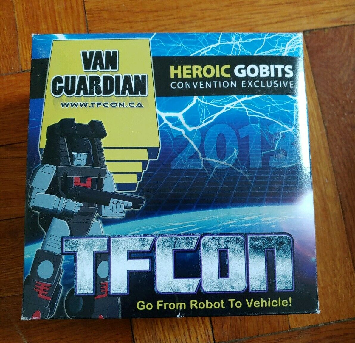 IGear TFCon Exclusive Heroic Gobits Gobot Van Guardian MIB Complete gobots guard