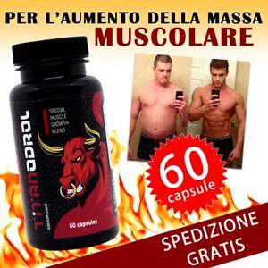 Titanodrol 60 caps per massa muscolare aumentare massa Probolan 50 , Somatodrol