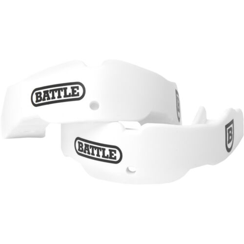 Battle Sports Science Adult Football Mouthguard 2-Pack with Straps