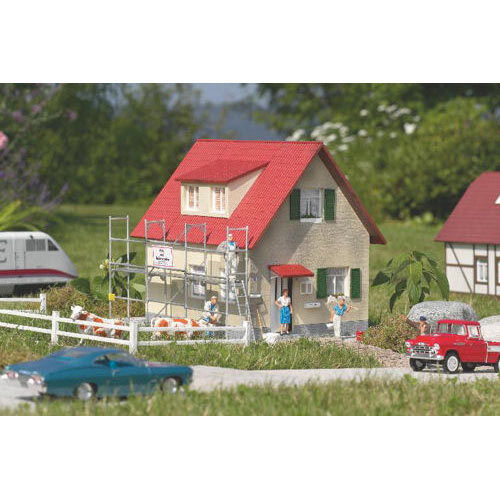PIKO House Under Construction Kit G Gauge 62072