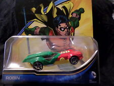 2015 HW HOT WHEELS DC UNIVERSE ROBIN HOTWHEELS  RED, GREEN & YELLOW
