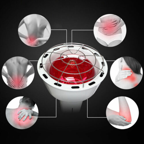 275W Infrarot Lampe Infrarotlampe Wärmelampe Rotlicht Lampe mit Rädern aus DE
