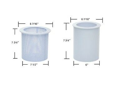8-7//16 in. x 7-3//4 in. Replacement Strainer American S-10 Pool Skimmer Basket