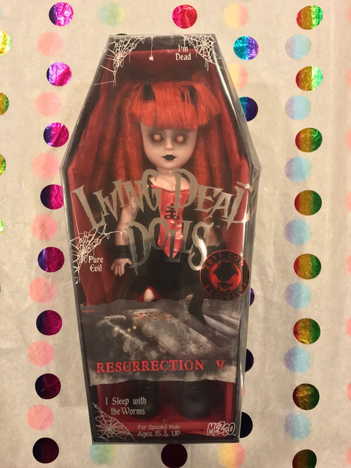 Living Dead Dolls resurrección V Inferno Sellado Envío Gratis