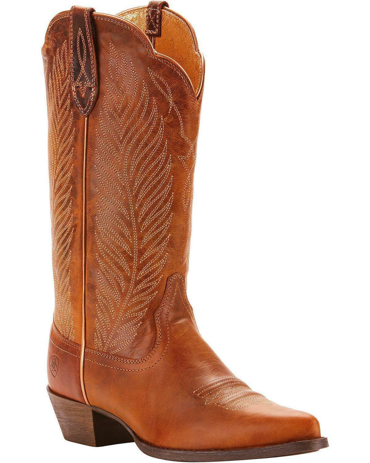 Ariat Women's Round Up Johanna Pearl Cowgirl Boot - Pointed Toe - 10025152