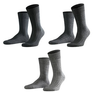 Falke-Men-039-s-Socken-Teppich-IN-The-Shoe-Merino-Wool-Plain-Colour-Choice-41-46