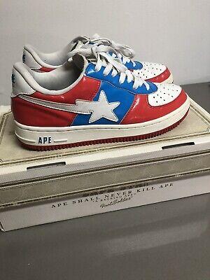 2006 Bapesta Size 9.5 RED/WHITE/BLUE