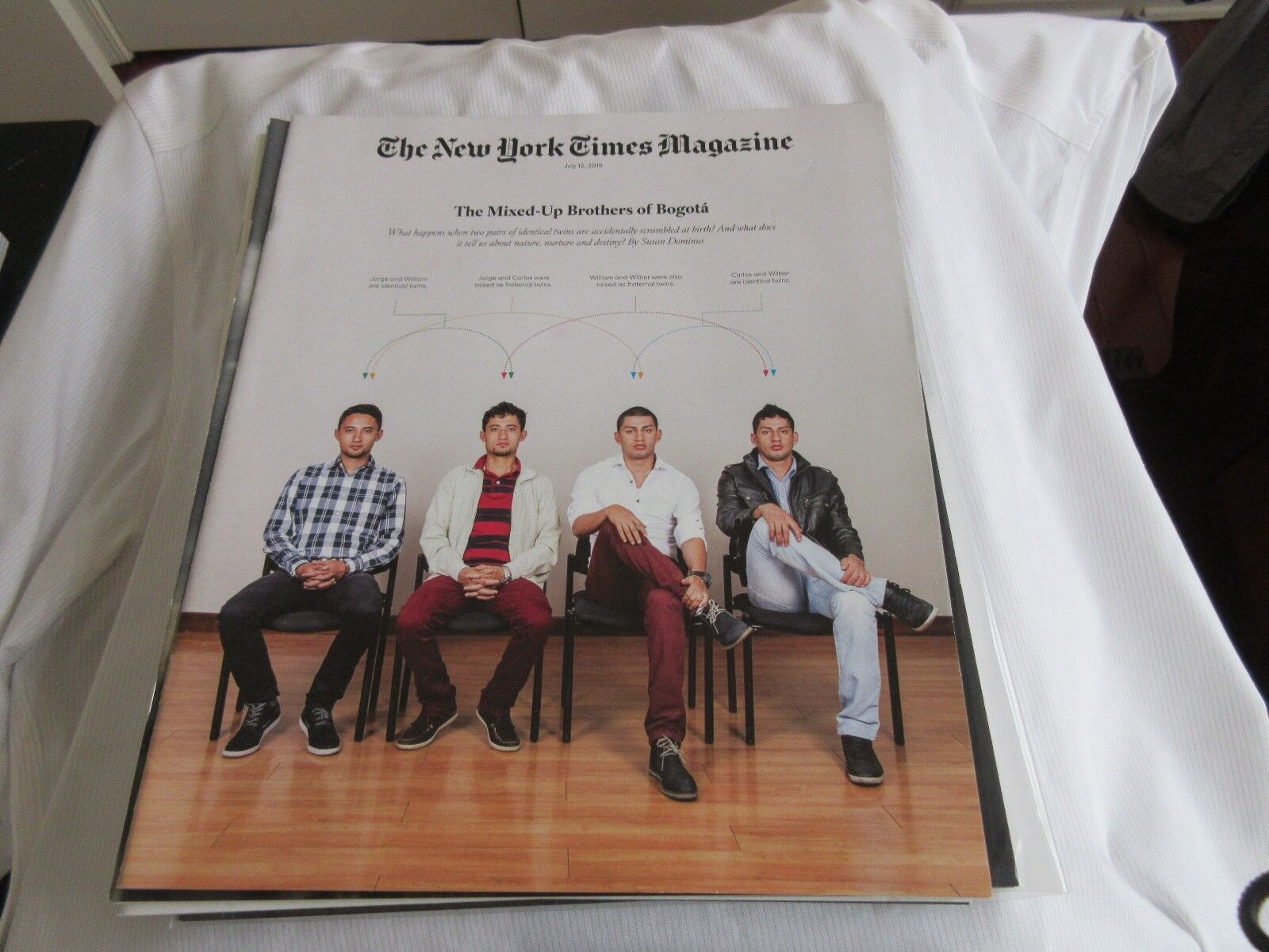 The Mixed Up Brothers of Bogota . The New York Times Ma