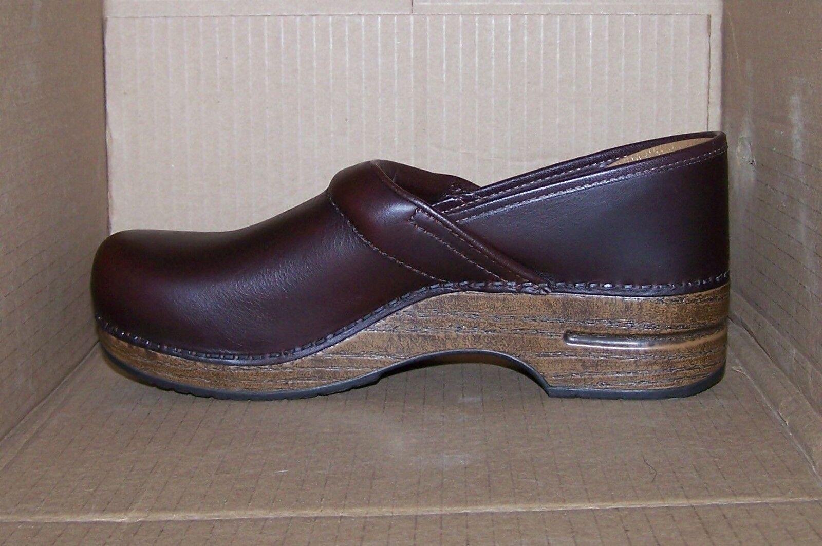 DANSKO 42 Espresso Oiled Leder Occupational Professional Schuhes Clogs 306067878