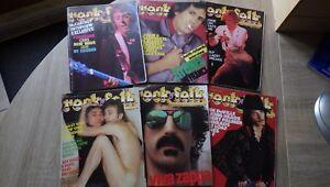 Lot-6-Revues-ROCK-AND-FOLK-1982-Numeros-180-181-182-184-185-189