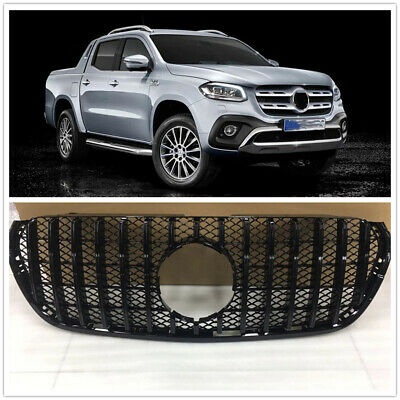 Car Front Bumper Grille Grill For Mercedes Benz X-Class 2018-2020 Silver Strip