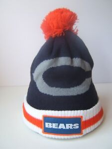 fd92681aee9 Image is loading Chicago-Bears-Winter-Hat-Budweiser-NFL-Football-Toque-