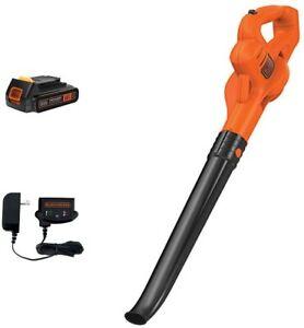BLACK+DECKER LSW221 Black/Orange Lithium Sweeper