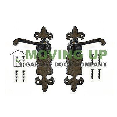 Garage Door Decorative Knocker Cast Iron