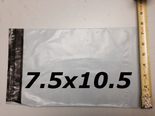 7.5x10.5 Poly Mailer Envelope Plastic Mailing Bag *EXPEDITED SHIPPING* 25 PCs