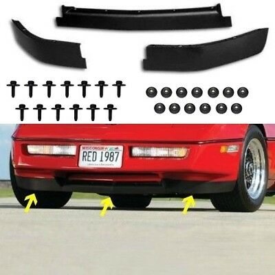 FRONT SPOILER CORVETTE C4 84 85 86 87 88 89 90 Z-51 COMPLETE LOWER AIR DAM NEW