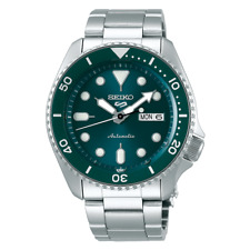 Seiko 5 SRPD61K1 Sports Automatic 46mm Stainless Steel Men's Watch