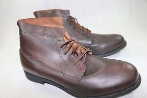 13 vintage da A051 caviglia marrone Mens Fisk Jd M lavoro Plaintoe stivali nEOpqX1x