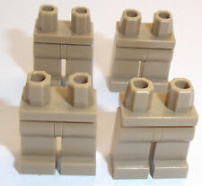 Lego Dark Tan Legs x 4 for Miinifigure