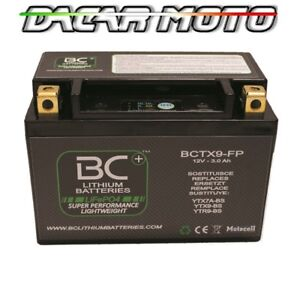 BATTERIA MOTO LITIO SYM SHARK 125 1999 2000 2001 2002 2003 BCTX9-FP