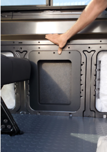 Wall-Insert-Panel-with-Built-in-Box-for-Ford-Transit