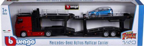 1:43 Renault Captur//VW Polo//ford Bburago mercedes actros auto Transporter