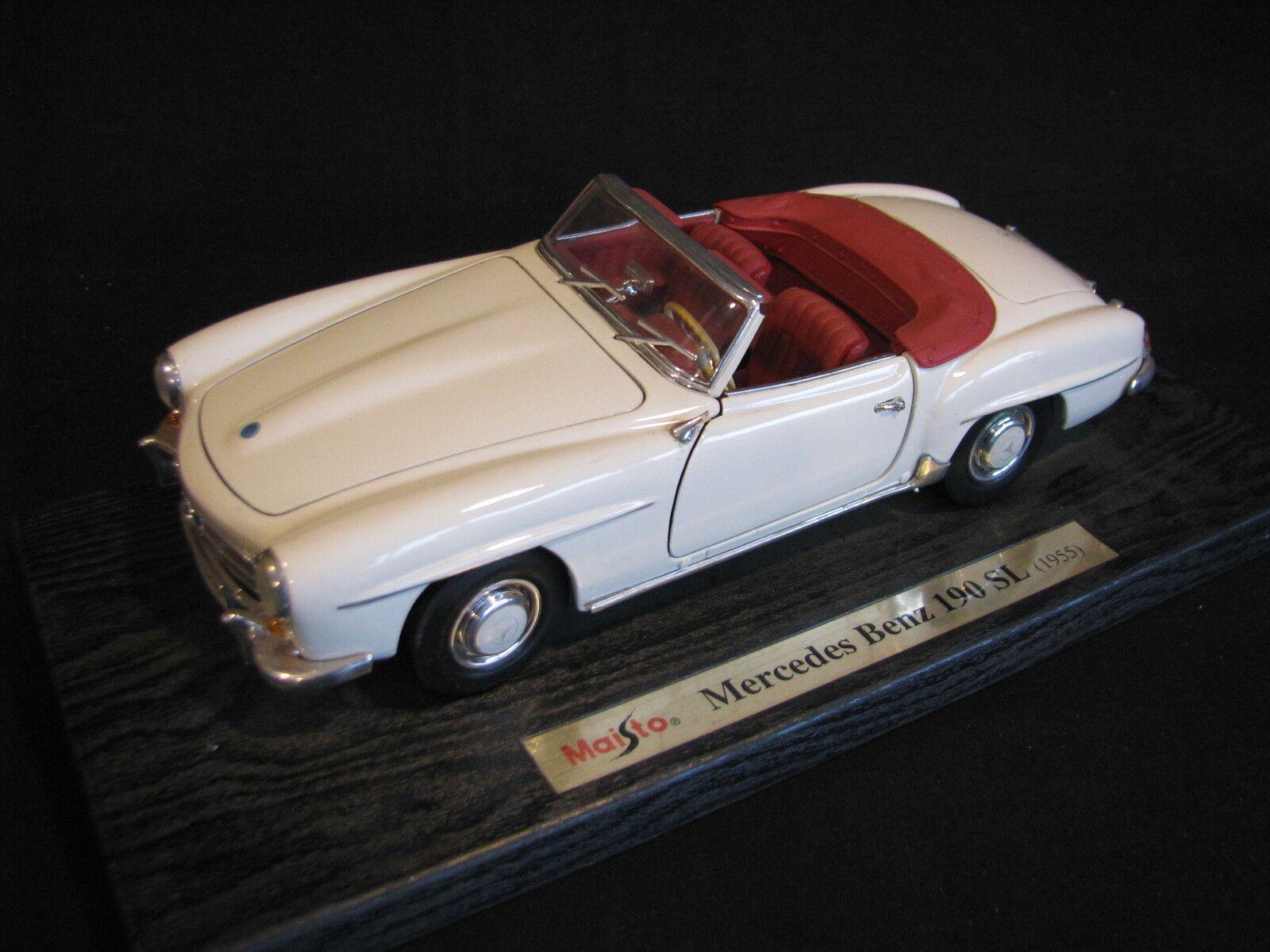 Maisto Mercedes-Benz 190 SL 1955 1 18 Beige (JvM)