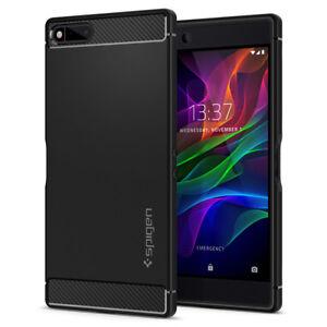 For-Razer-Phone-Case-Rugged-Armor-Slim-Sleek-Shockproof-Black-TPU-Case-Cover