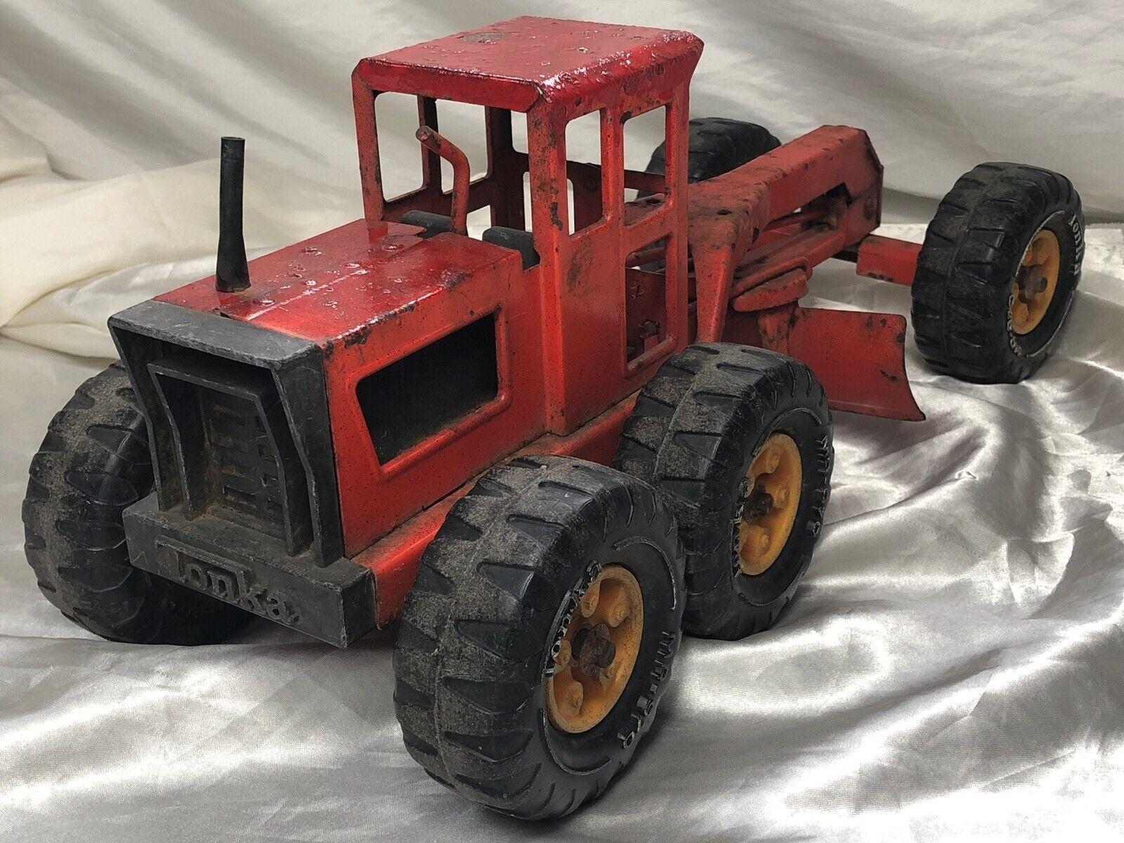 1 vintage USA in acciaio stampato giocattolo Tonka modellolo Diecast stato Hi STRADA strada prima media