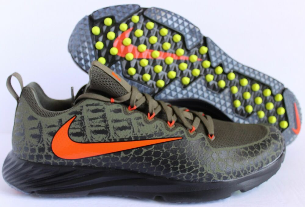 Nike Vapor Speed Turf FG Florida Gators Medium Olive/Orange-Noir 14 [924775-280 Chaussures de sport pour hommes et femmes