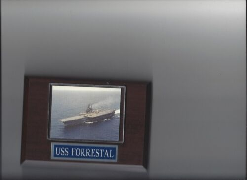 USS FORRESTAL PLAQUE NAVY US USA MILITARY AIRCRAFT SUPER CARRIER SHIP