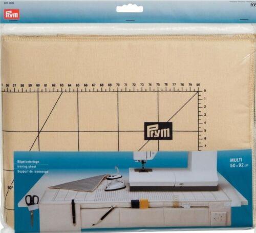 Winkelmarkierung Art Prym Bügelunterlage Multi 50 x 92 cm mit Raster 611926 u