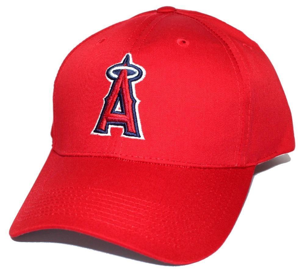 Major League Angels Baseball MLB  Anaheim Angels League Baseball cap hat 99749e