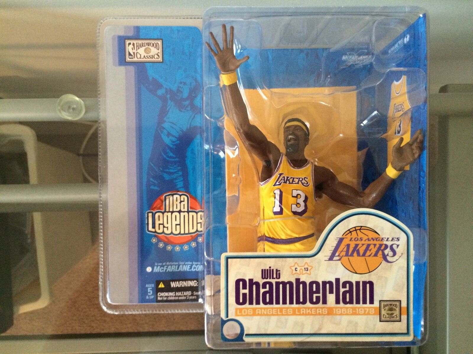 Mcfarlane NBA leyendas Wilt Chamberlain Los Angeles Lakers Chase Nuevo En Caja