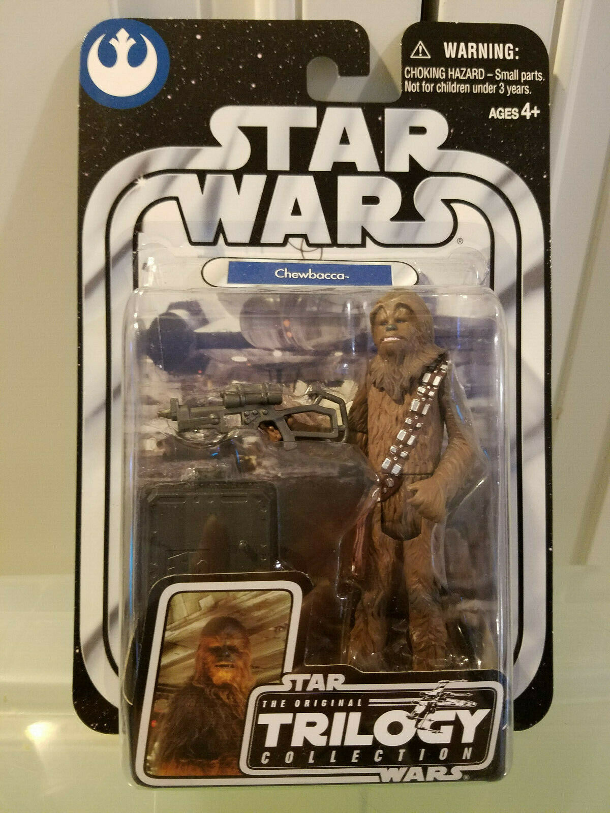 STAR WARS OTC ORIGINAL TRILOGY SERIES #08 WOOKIEE COPILOT CHEWBACCA FIGURE