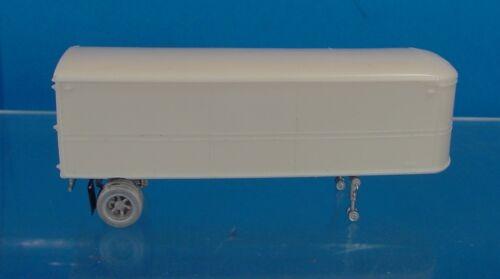 HO 1//87 WISEMAN MODEL SERVICES OT6610 FRUEHAUF AEROVAN 28/' PIGGYBACK TRAILER KIT