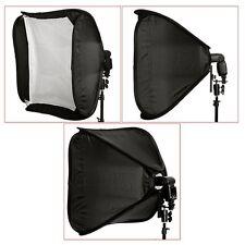 """24"""" 60 X 60cm Portable Professional Softbox Kit for Flash Speedlite Nikon Canon"""