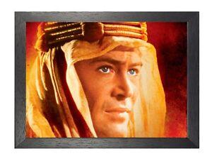 Lawrence-di-Arabia-1-Peter-o-039-Toole-Classico-Vintage-Retro-Film-Immagine-Poster