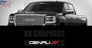 "YUKON Front 36/"" Windshield Banner Decal Fits SUV GMC"