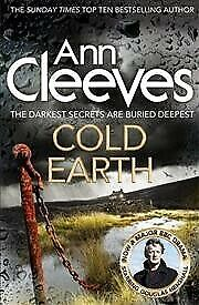Cold-Earth-Paperback-by-Cleeves-Ann-Brand-New-Free-shipping