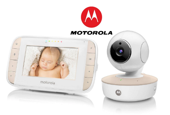 Tilt /& Zoom Baby Monitor Motorola MBP44 Digital Audio and Video remote Pan