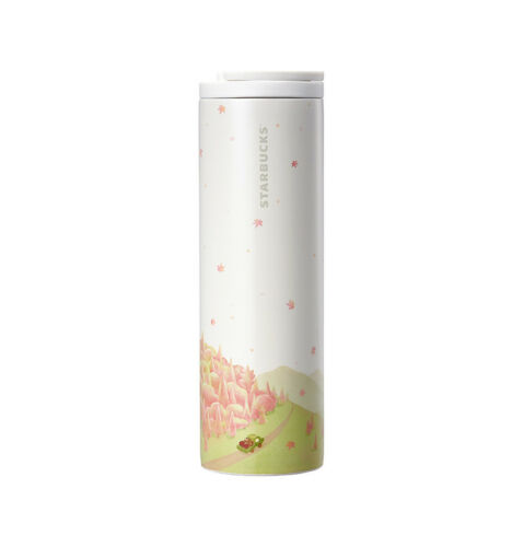Starbucks 2018 Limited Edition SS troy autumn coffee farm tumbler 473ml+Ttacking